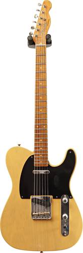 Fender Custom Shop 1953 Tele Journeyman Relic Butterscotch Blonde Maple Fingerboard Master Builder Designed by Paul Waller #R101090