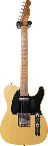 Fender Custom Shop 1953 Tele Journeyman Relic Butterscotch Blonde Maple Fingerboard Master Builder Designed by Paul Waller #R99300