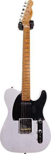 Fender Custom Shop 1953 Tele Journeyman Relic White Blonde Maple Fingerboard Master Builder Designed by Paul Waller #R102710