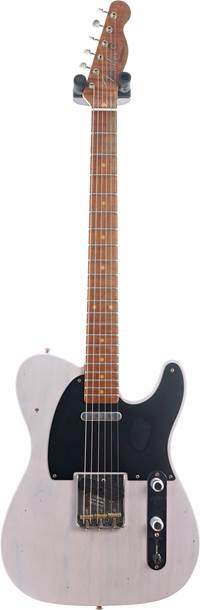 Fender Custom Shop 1953 Telecaster Journeyman Relic White Blonde Maple Fingerboard Master Builder Designed by Paul Waller #R101040