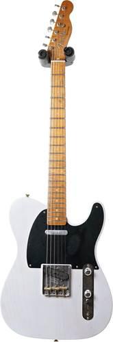 Fender Custom Shop 1953 Telecaster Journeyman Relic White Blonde Maple Fingerboard Master Builder Designed by Paul Waller #R99201