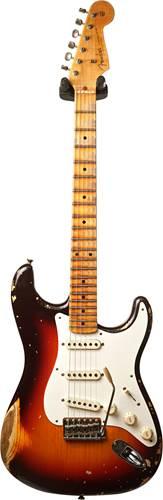 Fender Custom Shop 1957 Strat Heavy Relic Chocolate 3 Tone Sunburst MN Master Builder Designed by Jason Smith #R101279