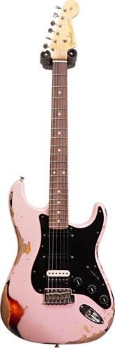 Fender Custom Shop 1961 Strat Heavy Relic Shell Pink over 3 Tone Sunburst RW Master Builder Designed by Dale Wilson #R102001