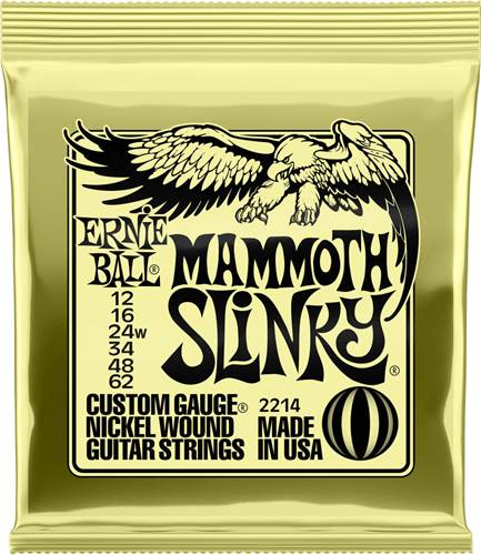 Ernie Ball 2214 Mammoth Slinky 12-62