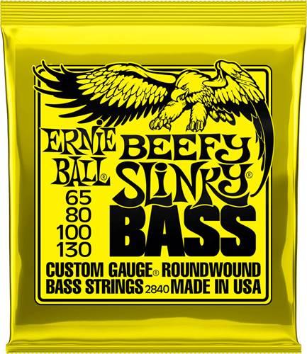 Ernie Ball 2840 Beefy Slinky Bass 65-130