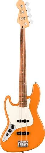 Fender Player Jazz Bass Capri Orange Pau Ferro Fingerboard Left Handed