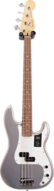 Fender Player P Bass Silver Pau Ferro Fingerboard