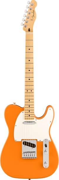Fender Player Telecaster Capri Orange Maple Fingerboard