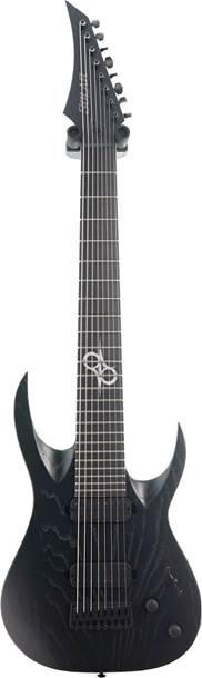Solar Guitars A2.8BOP Black Matte Open Pore