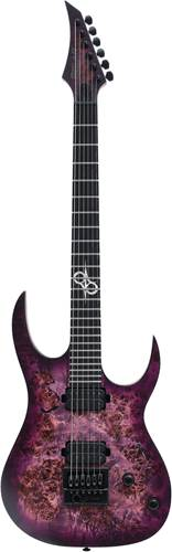 Solar Guitars S1.6PP Poplar Purple Matte
