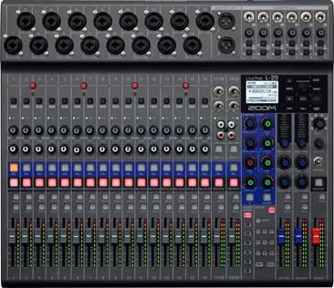 Zoom L-20 LiveTrak Digital Mixer and Recorder