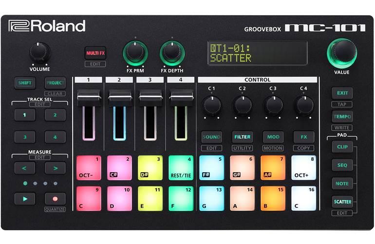 Roland MC-101 Groovebox (Ex-Demo) #0047