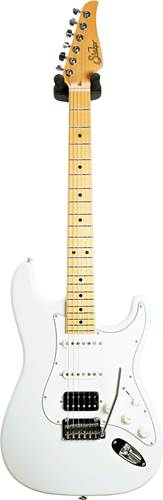 Suhr Classic Antique S Olympic White HSS Maple Fingerboard #JS6Z3D