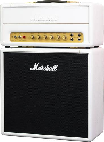 Marshall SV20H Studio Vintage 1959SLP 20W Valve Head and 1x12 Set White