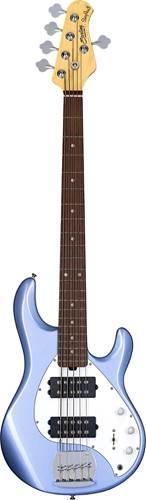Music Man Sterling SUB Ray 5 HH Lake Blue Metallic