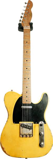 LSL Instruments T Bone Heavy Aged Butterscotch Blonde Ash Body Roasted MN #Citron