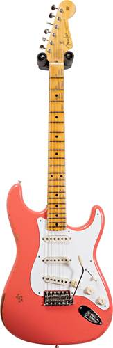 Fender Custom Shop 1956 Stratocaster Relic with Closet Classic Hardware Faded Aged Tahitian Coral #CZ548240