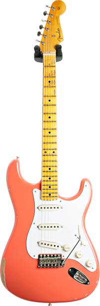 Fender Custom Shop 1956 Stratocaster Relic with Closet Classic Hardware Faded Aged Tahitian Coral #CZ545985