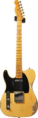 Fender Custom Shop 70th Anniversary Broadcaster Heavy Relic Aged Nocaster Blonde LH