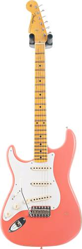 Fender Custom Shop 1956 Stratocaster Relic with Closet Classic Hardware Faded Aged Tahitian Coral Left Handed #CZ548237