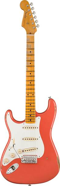 Fender Custom Shop 1956 Stratocaster Relic with Closet Classic Hardware Faded Aged Tahitian Coral Left Handed
