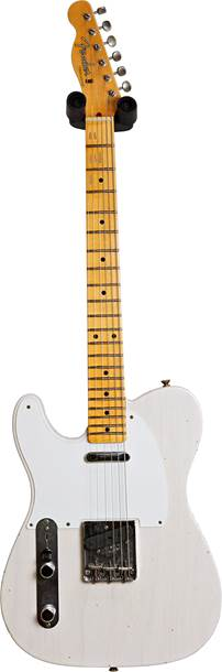 Fender Custom Shop 1957 Telecaster Journeyman Relic Aged White Blonde LH #CZ549444