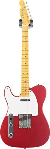 Fender Custom Shop 1957 Telecaster Journeyman Relic Aged Candy Apple Red LH #CZ548355