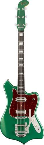 Fender Parallel Universe II Maverick Dorado Cadillac Green