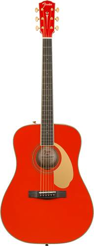 Fender Limited Edition Paramount PM-1E Fiesta Red