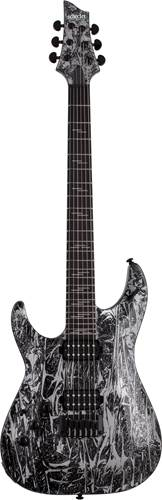 Schecter C-1 Silver Mountain Left Handed