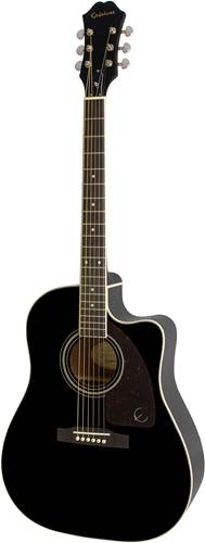 Epiphone AJ-220SCE Electro Acoustic Black Fishman