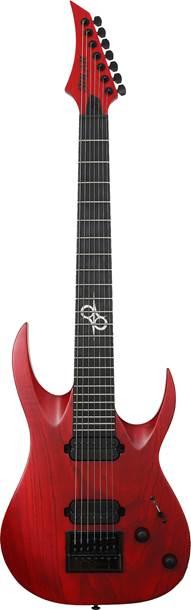 Solar Guitars A1.7TBR Trans Blood Red Matte