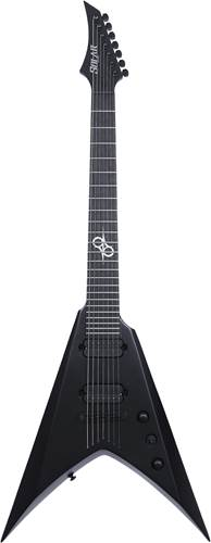 Solar Guitars V2.7C Carbon Black Matte