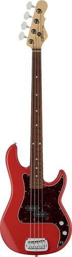 G&L USA Fullerton Deluxe LB-100 Fullerton Red Caribbean Rosewood Fingerboard