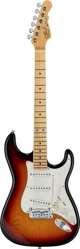 G&L USA Fullerton Deluxe Legacy 3-Tone Sunburst Maple Fingerboard