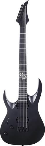 Solar Guitars A2.6C Carbon Black Matte LH