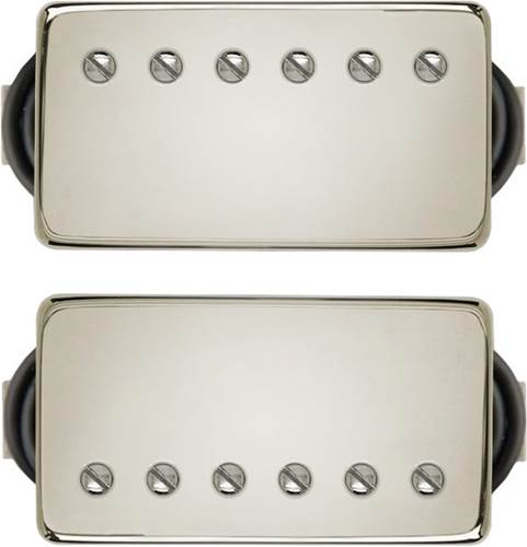 Bare Knuckle Stormy Monday Calibrated Set - Short Leg - 4 Conductor - Coil Potted - Nickel Covers