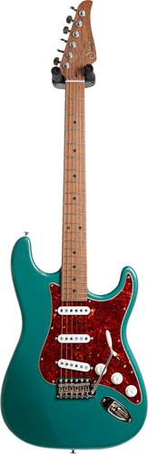 Suhr guitarguitar Select #156 Classic Sherwood Green Metallic 5A Roasted Maple Fingerboard