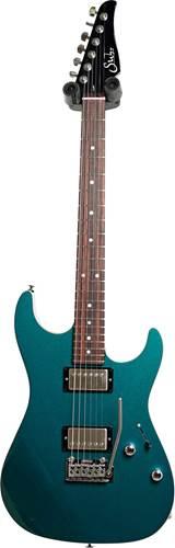 Suhr Pete Thorn Signature Series Standard Ocean Turquoise Metallic Wilkinson Trem HH
