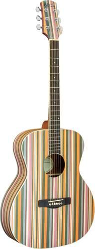 Adam Black Acoustic Guitar Rainbow
