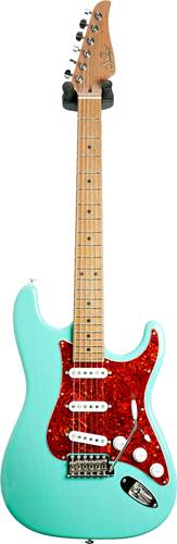 Suhr guitarguitar select #155 Classic Trans Surf Green 5A Roasted Maple Fingerboard