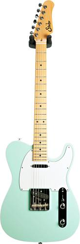 Suhr Classic T Custom Surf Green with Top Binding
