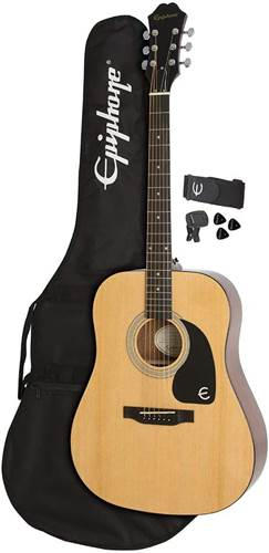 Epiphone FT-100 Player Pack Natural