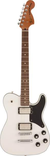 Fender Japanese Troublemaker Tele Arctic White RW