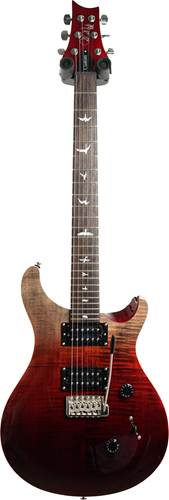 PRS SE Limited Edition Custom 24 Charcoal Cherry Fade