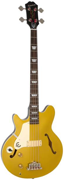Epiphone Jack Casady Bass Metallic Gold Left Handed