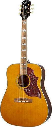 Epiphone Inspired by Gibson Hummingbird Aged Natural Antique Gloss