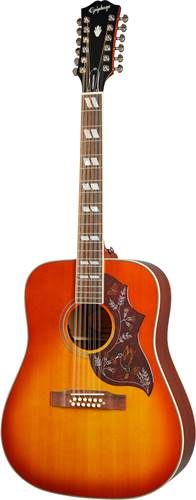 Epiphone Inspired by Gibson Hummingbird 12-String Aged Cherry Sunburst Gloss