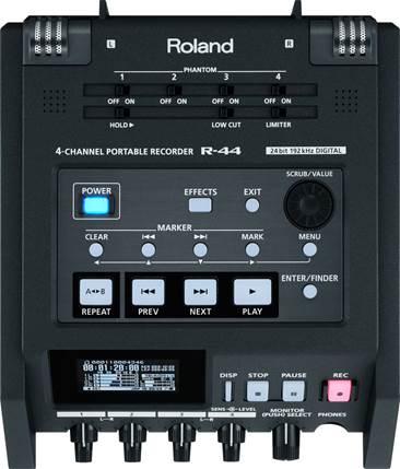 Roland R44 Recorder (Ex-Demo) #Z4D0436
