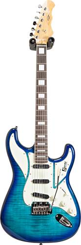 Burns King Cobra Blue Burst